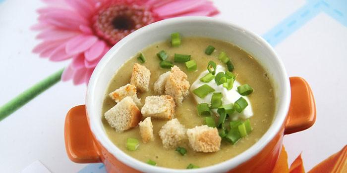 суп для ребенка с цветной капустой