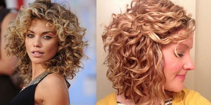 прически на кудрявые волосы модные в 2009 году весна лето