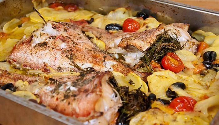 Рецепты блюд из морского окуня в духовке
