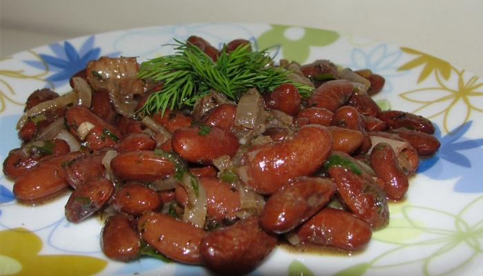 Рецепт лобби из фасоли