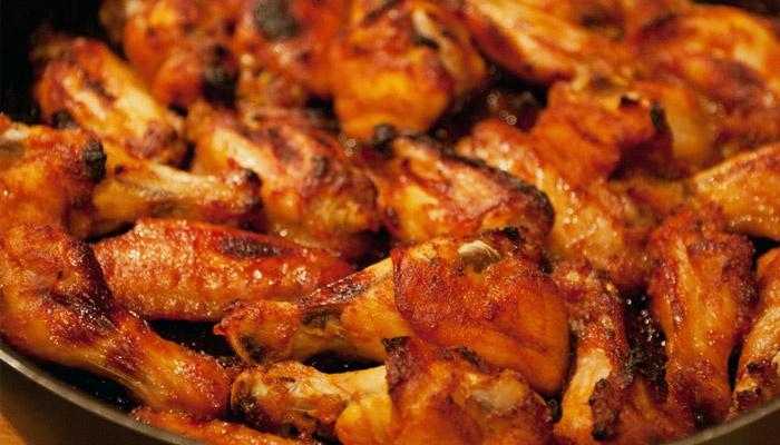 рецепт крылья в духовке