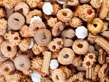 Разнообразное печенье